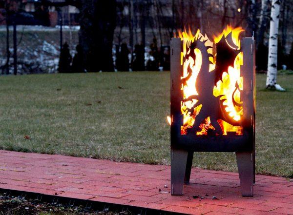 Fire Basket Dragon